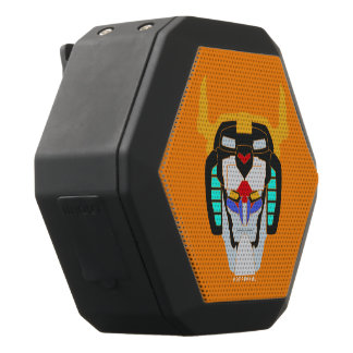 Voltron | Colored Voltron Head Graphic Black Bluetooth Speaker