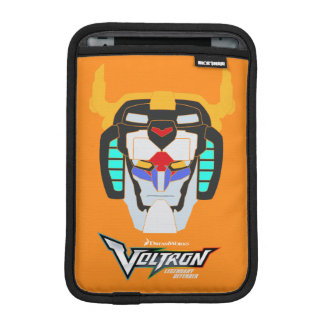 Voltron | Colored Voltron Head Graphic iPad Mini Sleeve