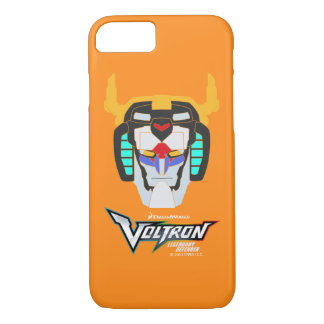 Voltron | Colored Voltron Head Graphic iPhone 8/7 Case