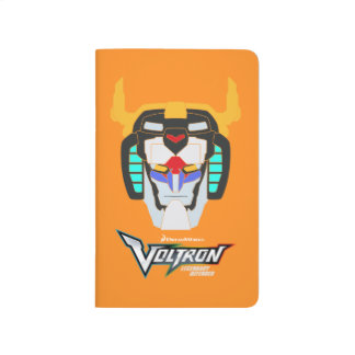 Voltron | Colored Voltron Head Graphic Journal