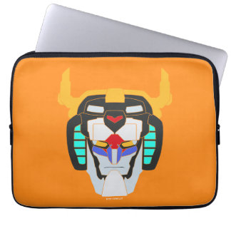 Voltron | Colored Voltron Head Graphic Laptop Computer Sleeves