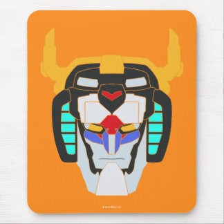 Voltron | Colored Voltron Head Graphic Mouse Pad