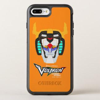 Voltron | Colored Voltron Head Graphic OtterBox Symmetry iPhone 8 Plus/7 Plus Case