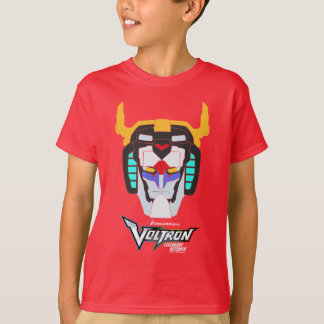 Voltron | Colored Voltron Head Graphic T-Shirt