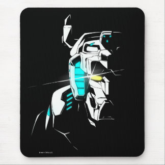 Voltron | Gleaming Eye Silhouette Mouse Pad