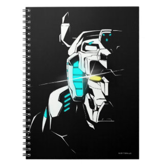 Voltron | Gleaming Eye Silhouette Notebook