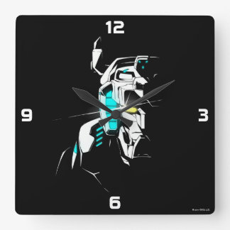 Voltron   Gleaming Eye Silhouette Wall Clocks