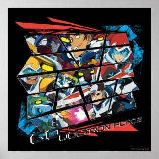 Voltron | Go Voltron Force Poster