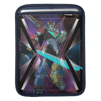 Voltron | Intergalactic Voltron Graphic iPad Sleeve