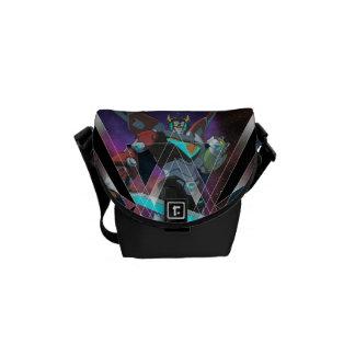 Voltron   Intergalactic Voltron Graphic Messenger Bags