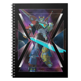 Voltron | Intergalactic Voltron Graphic Notebook