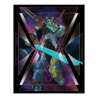 Voltron | Intergalactic Voltron Graphic Poster