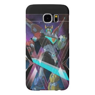 Voltron | Intergalactic Voltron Graphic Samsung Galaxy S6 Cases