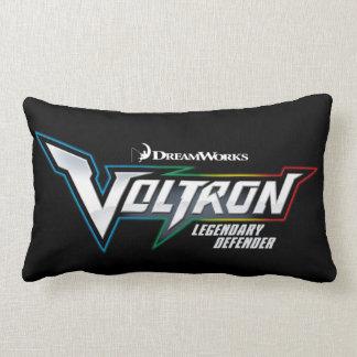 Voltron   Legendary Defender Logo Lumbar Pillow