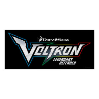 Voltron   Legendary Defender Logo Poster