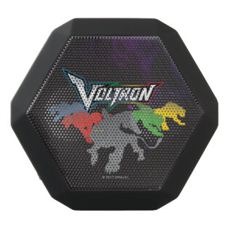 Voltron | Lions Charging Black Bluetooth Speaker