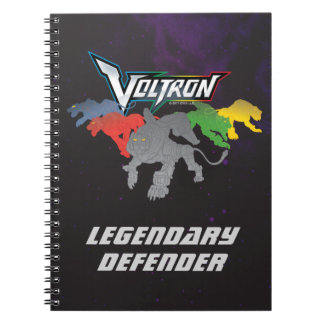 Voltron | Lions Charging Spiral Notebook