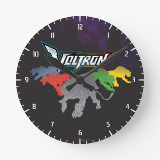 Voltron   Lions Charging Wallclocks