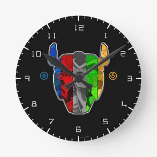 Voltron   Pilots In Voltron Head Clock