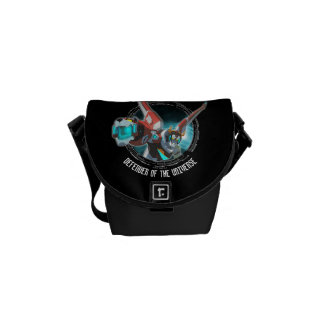 Voltron | Red Lion Plasma Beam Courier Bag