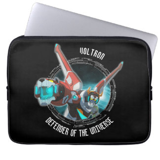 Voltron | Red Lion Plasma Beam Laptop Computer Sleeve
