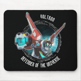 Voltron | Red Lion Plasma Beam Mouse Pad
