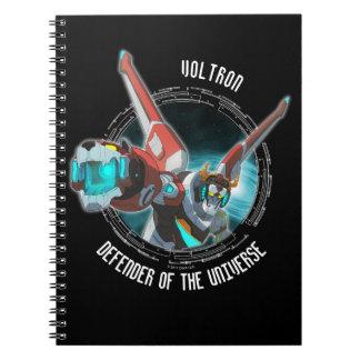 Voltron | Red Lion Plasma Beam Notebook