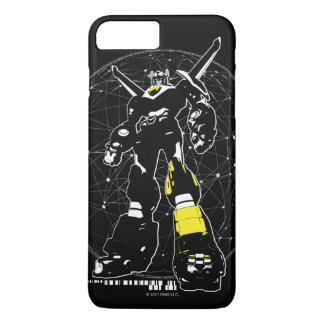 Voltron | Silhouette Over Map iPhone 8 Plus/7 Plus Case