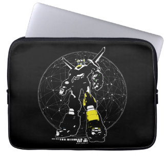 Voltron | Silhouette Over Map Laptop Sleeve