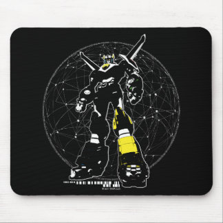 Voltron | Silhouette Over Map Mouse Pad