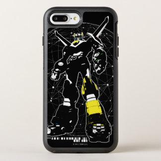 Voltron | Silhouette Over Map OtterBox Symmetry iPhone 8 Plus/7 Plus Case