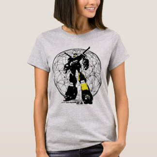 Voltron   Silhouette Over Map T-Shirt