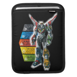 Voltron | Voltron And Pilots Graphic iPad Sleeve