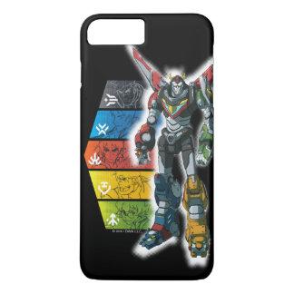 Voltron | Voltron And Pilots Graphic iPhone 8 Plus/7 Plus Case