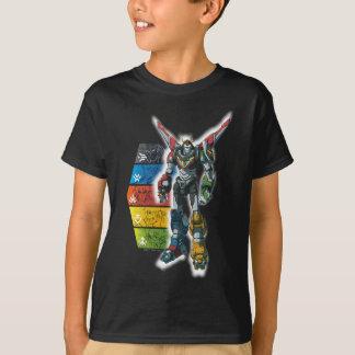 Voltron   Voltron And Pilots Graphic T-Shirt