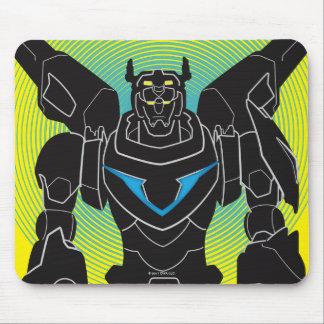 Voltron | Voltron Black Silhouette Mouse Pad