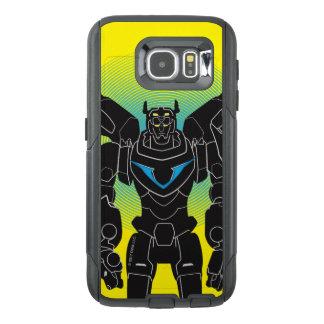 Voltron   Voltron Black Silhouette OtterBox Samsung Galaxy S6 Case