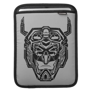 Voltron | Voltron Head Fractured Outline iPad Sleeve