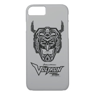 Voltron | Voltron Head Fractured Outline iPhone 8/7 Case