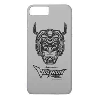 Voltron | Voltron Head Fractured Outline iPhone 8 Plus/7 Plus Case