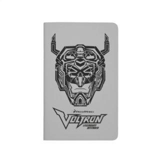 Voltron | Voltron Head Fractured Outline Journal