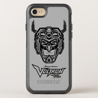 Voltron | Voltron Head Fractured Outline OtterBox Symmetry iPhone 8/7 Case