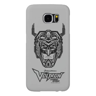 Voltron | Voltron Head Fractured Outline Samsung Galaxy S6 Cases