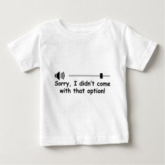 Volume Control Baby T-Shirt