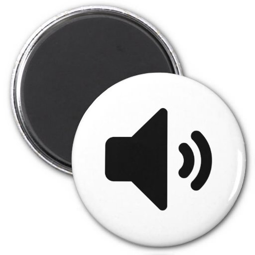 Volume Icon Fridge Magnets