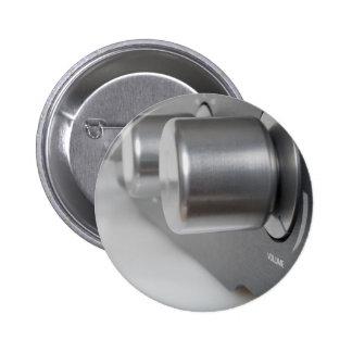 Volume Knob Pinback Button