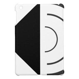 Volume up Speaker iPad Mini Cover