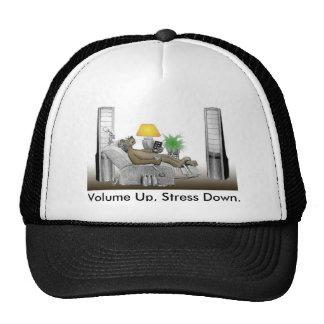 Volume Up, Stress Down. Hat