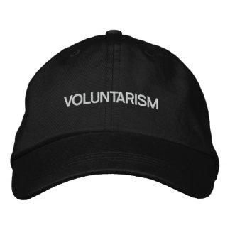 Voluntarism Embroidered Hat