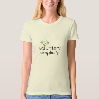 voluntary simplicity t-shirt